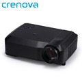 Crenova XPE650 Video Home Projector 1080P Presentation 120 Inches Display Support HDMI VGA USB SD AV