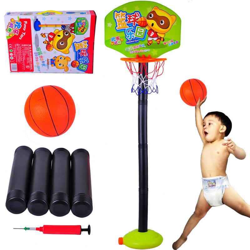 Toys Balls Sports Toddlers Boys : Children adjustable basketball hoop toys indoor
