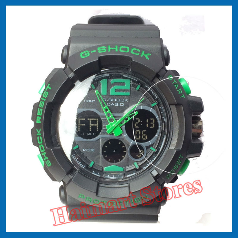 Military Grade Anti-Shock Film for Casio Watch G-Shock Analogue Digital Quartz LED Alarm Chronograph Casual Sports Wrist Watch<br><br>Aliexpress