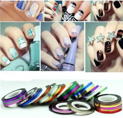 1pc nail art kit supplies wholesale gold silver painted wire cable 1pc nail art kit supplies wholesale gold silver painted wire cable jewelry color solid color nail polish stickers sms f a s h i o n prinsesfo Image collections