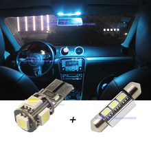 Buy LED Parking Xenon white,Car Canbus Interior light Bar kit VW Tiguan 5N,Car LED Footwell+Reading+Glove+Rear+Trunk Light for $14.20 in AliExpress store