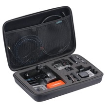 Buy Action camera S M Large Size bag Gopro Hero 5 4 SJCAM accessories Case Go pro SJCAM SJ4000 SJ5000 sport camera 24 for $6.27 in AliExpress store