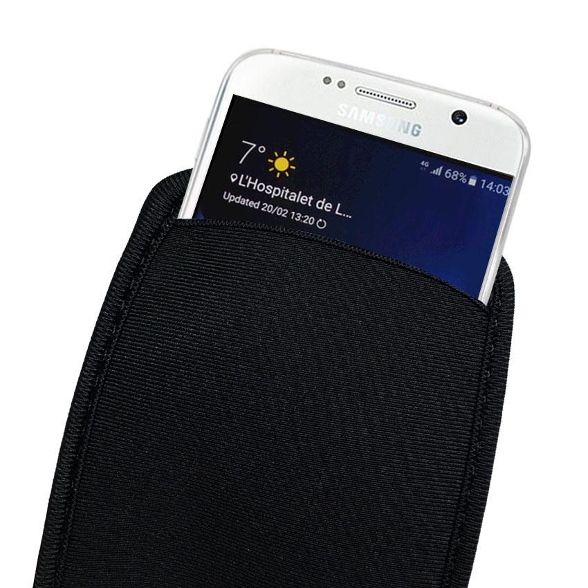 Мягкий гибкий неопреновый защитный чехол для samsung Galaxy S10 S9 S8 S7 Note 10 Plus|сумка s5|сумка s7
