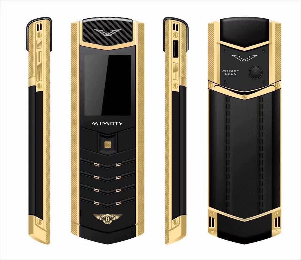 MPARTY LT2 Luxury metal leather housing mobile phone original china GSM Phone dual sim Cell Phones bluetooth Dial with mp3(China (Mainland))