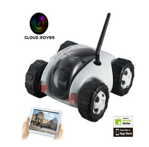 Cloud Rover WiFi Internet P2P remote spy car With130W Camera toy car ,iPhone / Android mobile wireless network remote control ca(China (Mainland))