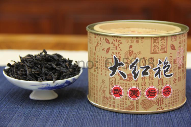 50g Supreme Da Hong Pao Big Red Robe Chinese Oolong Tea With Tin Box
