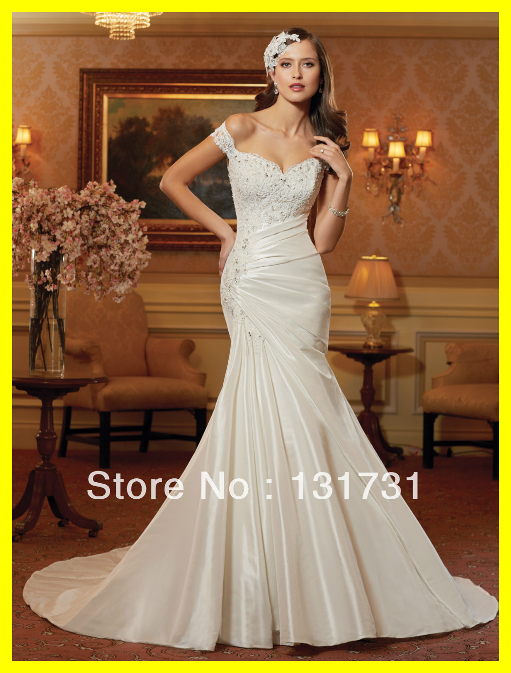 Gold Prom Dresses Under Places To Buy Short Junior Dress Trumpet /Mermaid Floor-Length Chapel Train Built-In Bra Ap 2015 Outlet(China (Mainland))