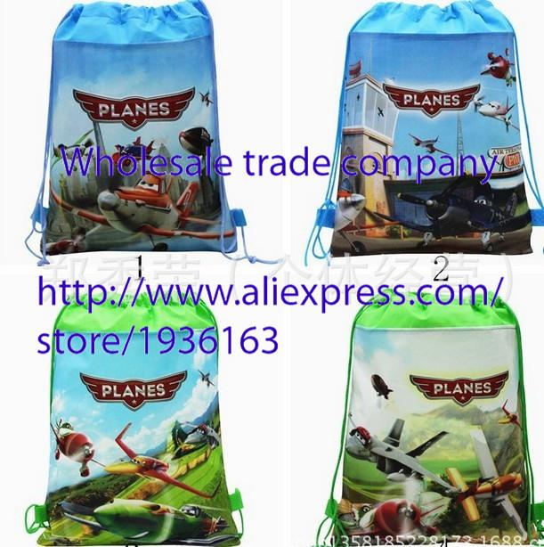 Lots of 24 pcs airplane shoe bag, shoe pouch, gift bag, drawstring bag schoolbag(China (Mainland))