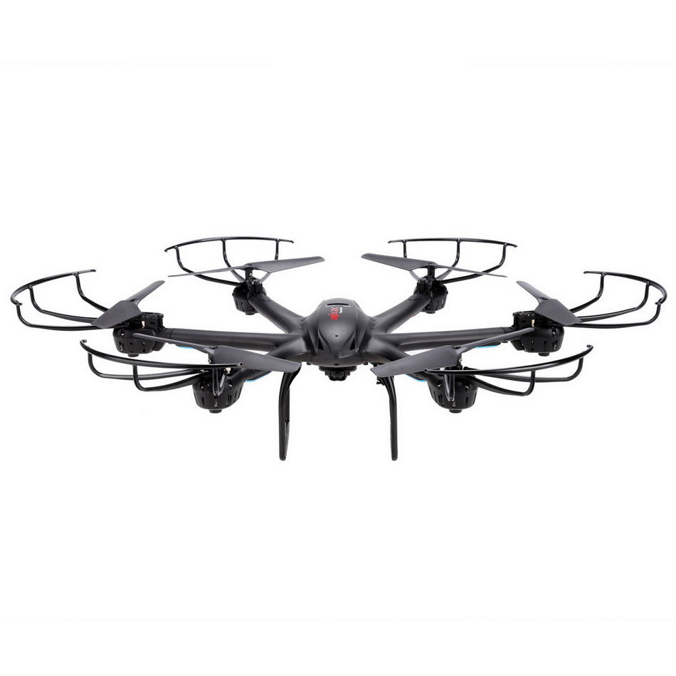Фотография Black Gold MJX X601H 3D Roll Quadcopter Helicopter Drone X-Series 2.4Ghz 6-axis Gyro Wireless HD Video Real-time WiFi FPV Camera