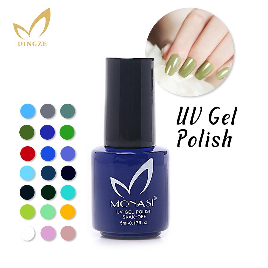 [해외]MONASI 2015 새로운 패션 디자인 옐로우 그린 색상 UV 젤..