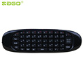 NEW Gyroscope Air Mouse C120 Microphone Wireless TV BOX Computer Keyboard 2 4G Rechargeable Remote Controller
