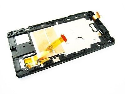 Original Full lcd display touch screen digitizer with frame for HTC window a620e 8s  free ship white