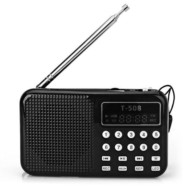 Радио LED fm/usb 2.0