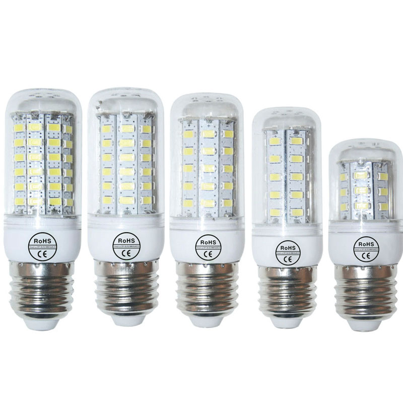 E27 Led Corn Bulb Warm White/ White SMD 5730 Led Lamp 9W 12W 15W 20W 25W 110V 220V 24LEDs 36LEDs 48LEDs 56LEDs 69LEDs Light(China (Mainland))