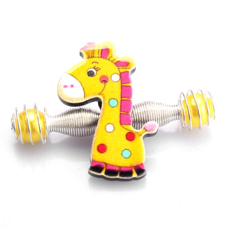 Kids Cute Cartoon Headwear super adorable Monkey / sheep / giraffe / mouse /kitty Lara clip hair accessories colorful G01(China (Mainland))