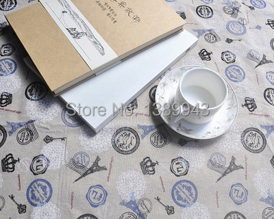 good quality handmade table cloths linen tablecloth round table cloth fashion table cloths cartoon french table cloths(China (Mainland))