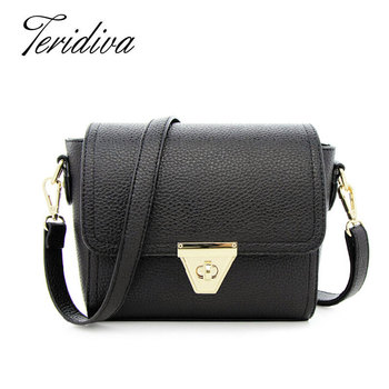 Famous Designers Handbags Woman Hand Bags for Women 2016 Mini Flap Bag Small Bag for Girl Bolso Vintage Women's Messenger Bags