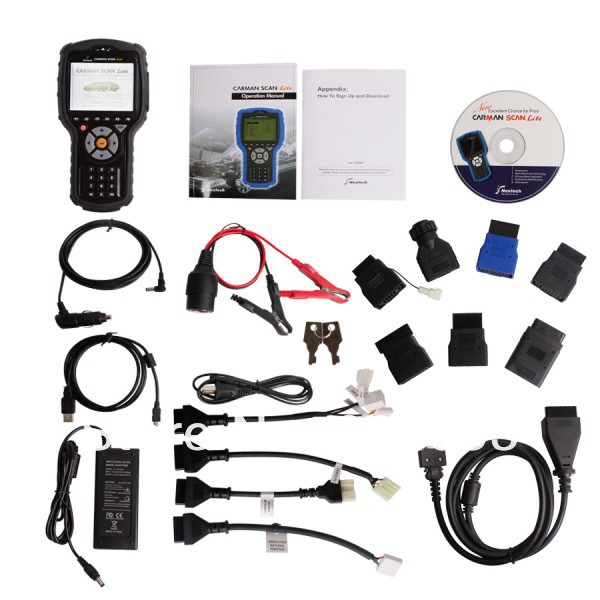 Newest 2014 Diagnostic scan tool OEM Carman Scan Lite/light carman lite scan For Hyundai/for Kia auto scanner DHL free shipping(China (Mainland))