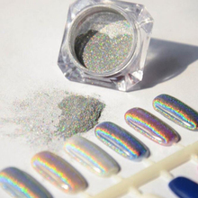 Buy 12 color Nail Glitter Powder Magic Mirror Bling nails Pigment Ultrafine Powder Magic Glimmer Nail art decorations powder AS146 for $1.32 in AliExpress store