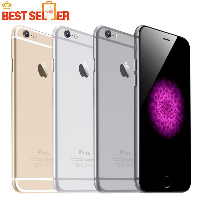 "Original Factory Unlocked iPhone 6 Smartphone Dual Core 4.7"" 1GB RAM 128GB ROM 8MP 1080p Multi-Touch WCDMA 4G LTE phone(China (Mainland))"