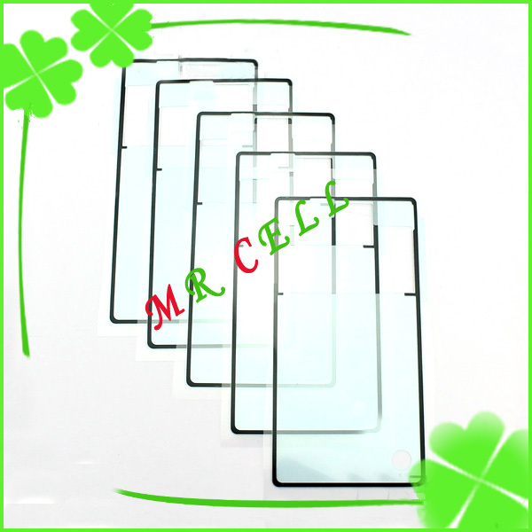 10pcs/lot For Sony Xperia Z L36h L36h Battery cover sticker Adhesive free shipping