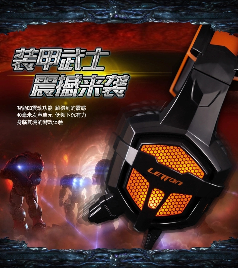 2015Hot new SADES/G1 notebook computer gaming headsets a headset with a microphone headset combo hole SA-810 Free Shipping(China (Mainland))