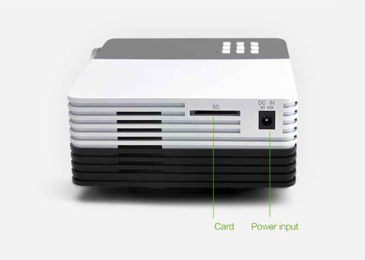 Biggest Sale Mini Digital LED Video 3D HD Projector support 1080P,Max 1200Lumens,Perfect Home theater free DHL