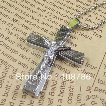 10 pcs Jesus Alloy Pendant Stainless Steel China Necklace god pendant necklace jewelry