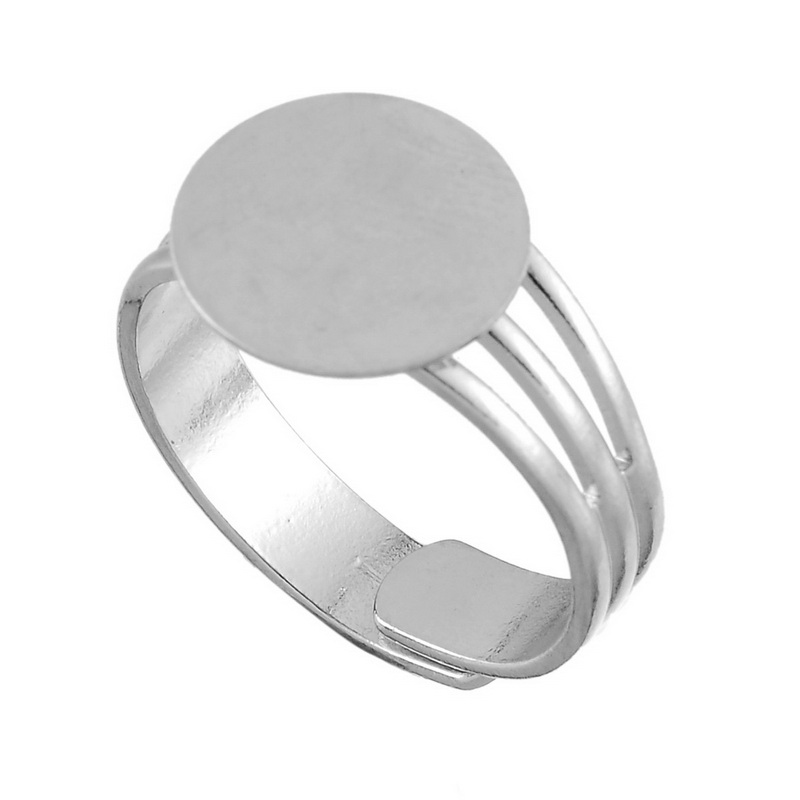 Online buy wholesale adjustable craft rings from china for Large plastic rings for crafts