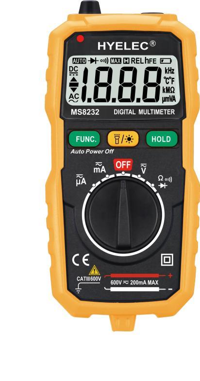 Portable Mini Digital Multimeter DMM Auto Range Data Hold Spotlight Backlight Auto Power Off Multitester Tester<br><br>Aliexpress