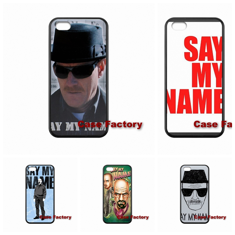 Breaking Bad - Say My Name For Moto X1 X2 G1 G2 Razr D1 D3 HTC One X S M7 M8 mini M9 Plus Desire 820 Samsung accessories Case(China (Mainland))