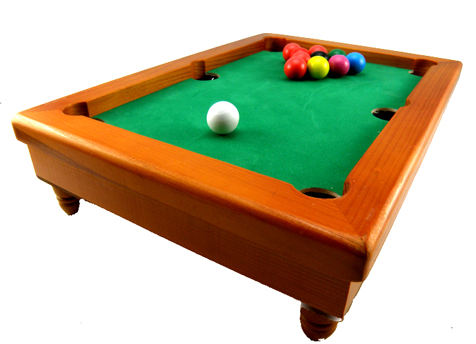 Free shipping wooden Snooker & Billiard ball toys parent-child Interactive toys Tables set wood snooker ball toys(China (Mainland))