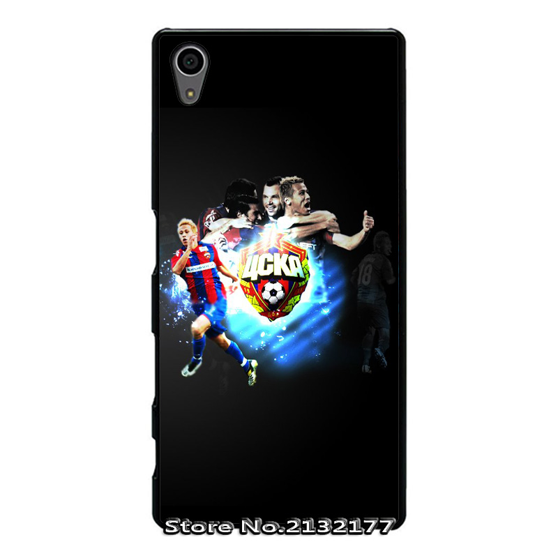CSKA Moscow Cover Case for IPhone 4 4s 5 5s 5c 6 6s plus Sony xperia Z Z1 Z2 Z3 Z4 Z5 mini C C3 C4 C5 M2 M4 T2 T3 E4(China (Mainland))