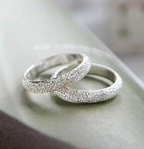 R179 Latest Fashion Fortunately Life Is Simple Frosted Ring Convention Jewelry Factory Direct 1pcs(China (Mainland))