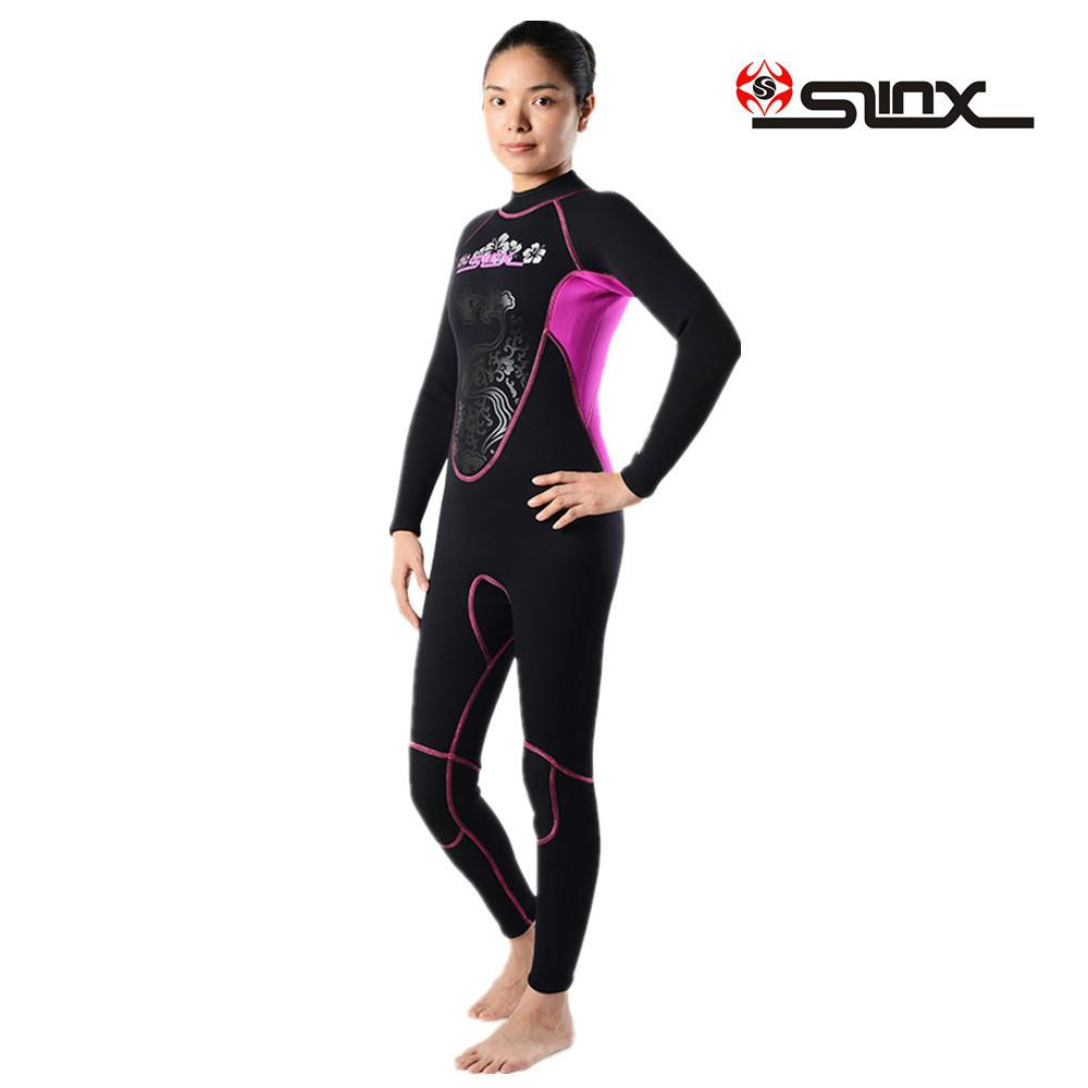 Brand women 39 s 3mm neoprene wetsuit dive suit surfing for Women s ice fishing suit