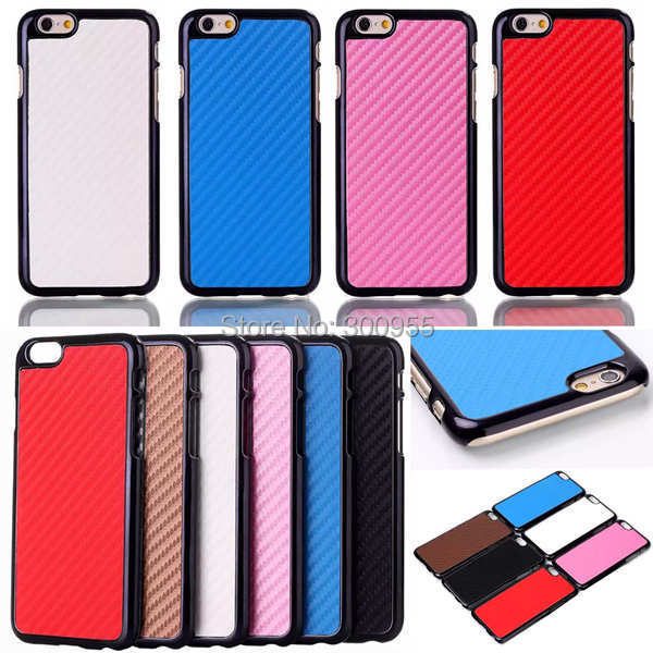 4.7 inch Deluxe Colorful Light Weight Brush Metal Hard Phone Case Cover iPhone 6 WHD1070 1-7 - poplar1115 store