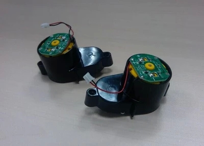 2pcs/set(For dibea x500 CR120) Side Brush Motors Assembly for a vacuum cleaner, Including Left Motor x1pcs+ Right Motor x1pcs(China (Mainland))