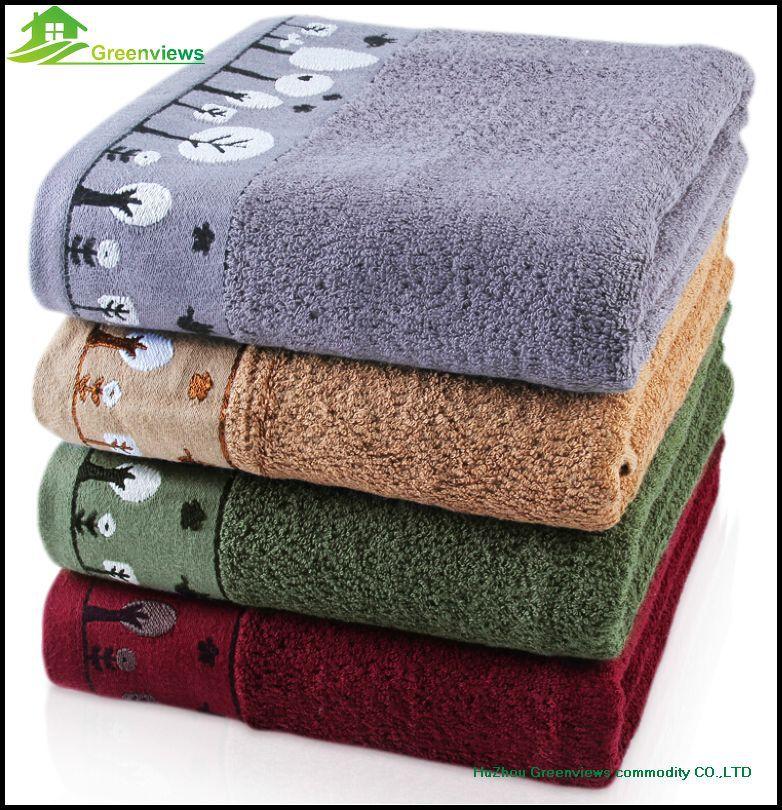 70*140cm 100% Bamboo Fiber Bath Towel Bulk Beach Towel Spa