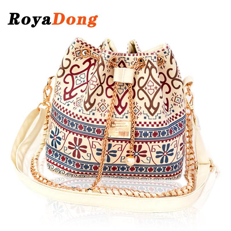 2015 Hot Selling Women Shoulder Bags Quality Guarantee Canvas Crossbody Bags for Women Handbags Chains Pearl Bucket Bag Bolsas(China (Mainland))