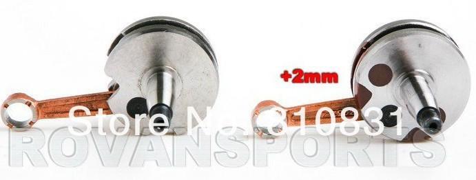 Freeshipping the crank for 30.5cc engin baja
