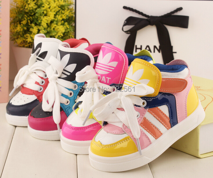 Осень модели дети свободного покроя обувь, Младенцы обувь