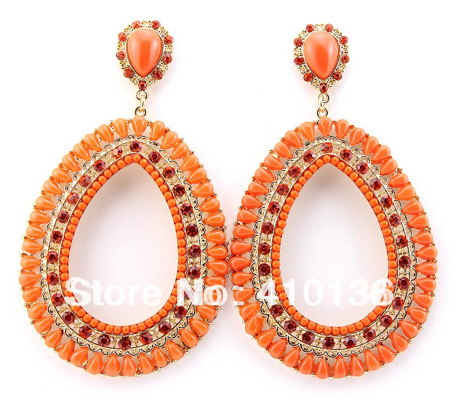 SER2067 Hot Sale Fashion Earrings Big Earrings Orange ...