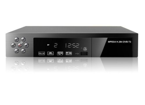 DVB-T2 High Definition Digital Video Broadcasting Satellite Receiver Top Box # F1116(China (Mainland))
