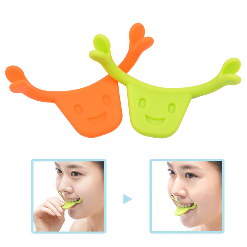 Charming Smile Braces Maker Training Personal Beauty Care Cheek Facial Muscle Massage & Relaxation Improve Braces Smiling 21_740(China (Mainland))