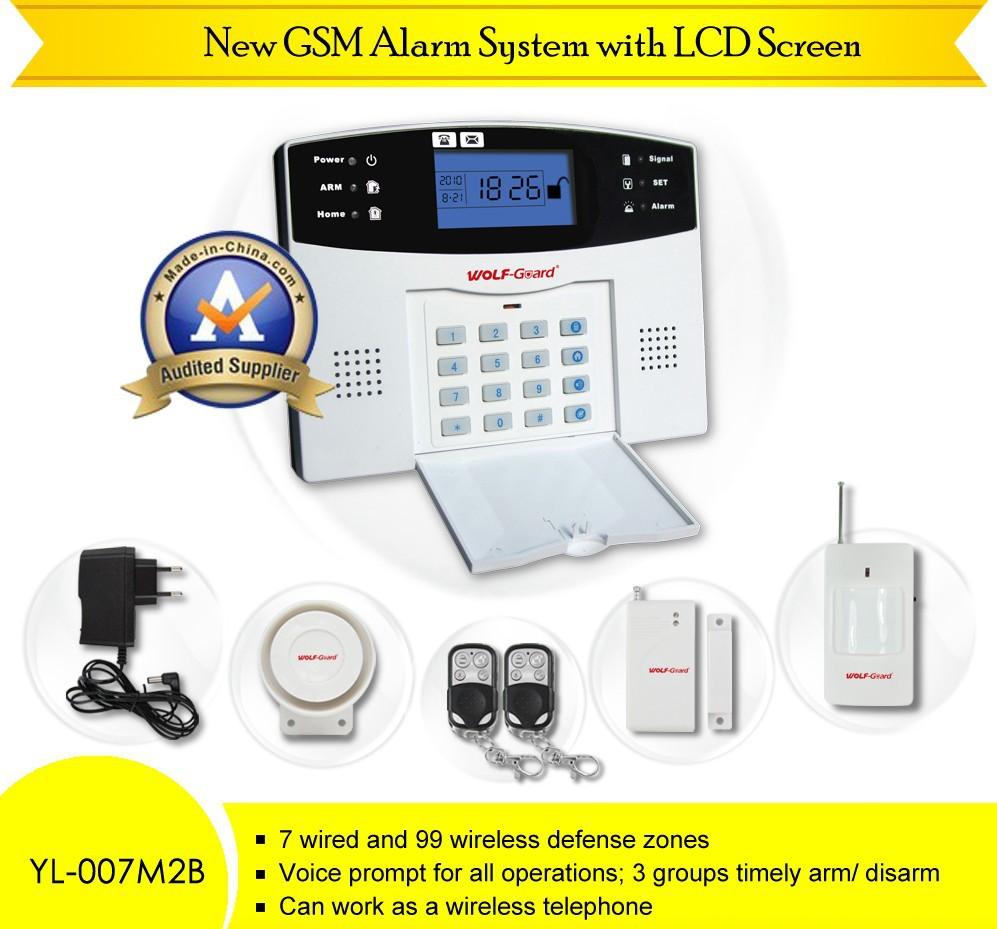 how to connect home alarm to mobile