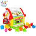 Eletronicos Puzzle Toys Brinquedos para Bebe Carrinhos e Cia DIY Mental Engineer Truck Free Transport 566CD