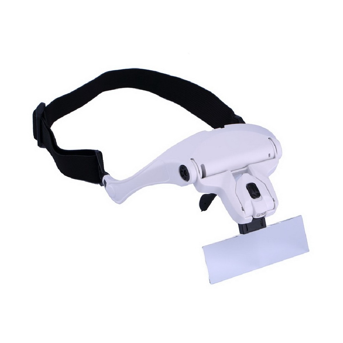 Top Originative 1.0X 1.5X 2.0X 2.5X 3.5X 5 Lens Adjustable Loupe Headband Magnifying Glass Magnifier with LED Magnifying Glasses