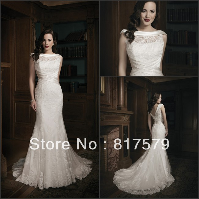 Alibaba china mermaid ground long train organza spanish for Spanish wedding dresses lace