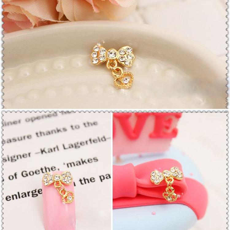 10pcs latest 3d fashion nail art bow(China (Mainland))
