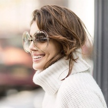 2016 Retro Rodada Mulheres Óculos De Sol Marca de Moda Grife Senhoras Do Vintage Óculos de Sol para As Mulheres Óculos De Sol Oculos De Sol Feminino